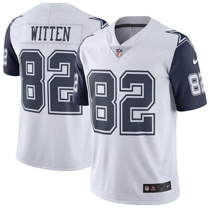 Men's Dallas Cowboys Jason Witten Nike White Vapor Untouchable Color Rush Limited Player Jersey