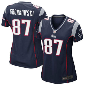 Women's New England Patriots Rob Gronkowski Nike Navy Blue Limited Jersey