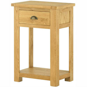 Cherwell Oak 1 Drawer Console Table