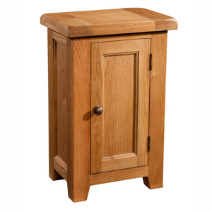 Somerset Oak 1 Door Cabinet