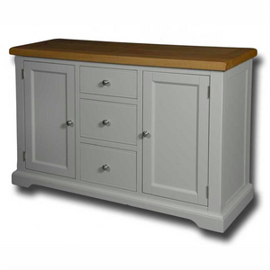 Oxford Painted 3 Drawer 2 Door Sideboard