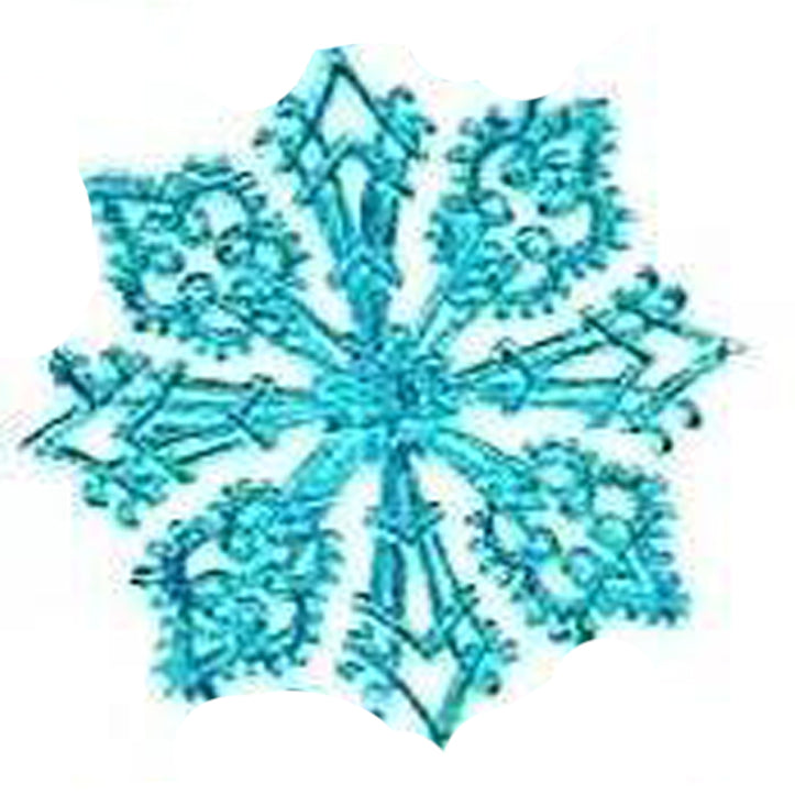 Snowflakes, Assorted, Dresden Trim