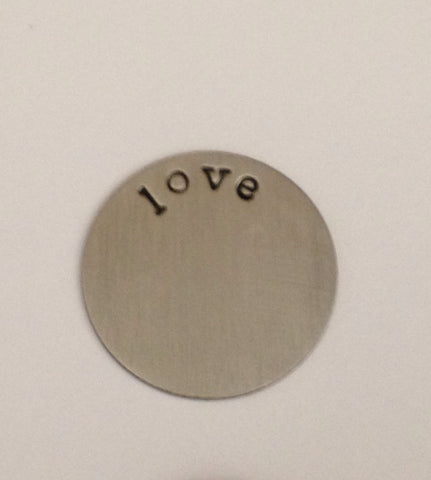 Love Floating Locket Plate - Stoney Creek Charms