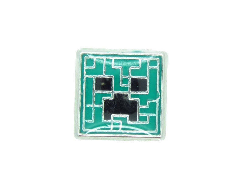 Creeper Minecraft floating charm - Stoney Creek Charms