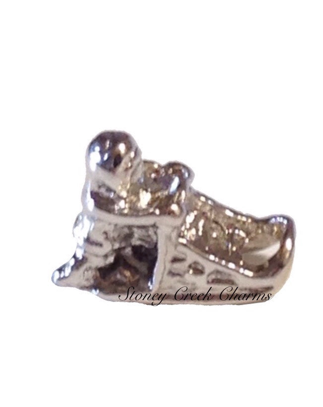 Dog Sled Floating Charm - Stoney Creek Charms