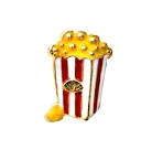 Popcorn Floating Charm - Stoney Creek Charms