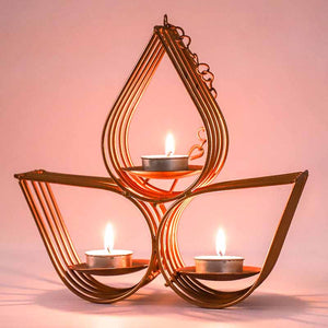 Diya T-Light Holder - Table Top / Hanging