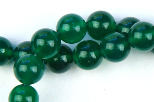 Green Onyx, 6mm, Round Shape Beads