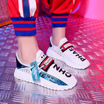 Harajuku breathable wild ins super fire white little old shoes