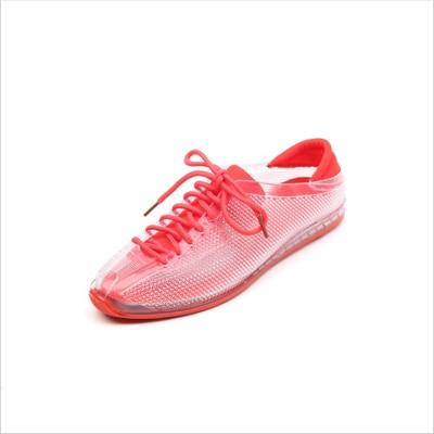 Crystal Sneakers Shoes Female Stransparent Plastic Jelly Shoes