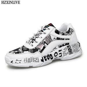 Woman White Sneakers Casual Shoes