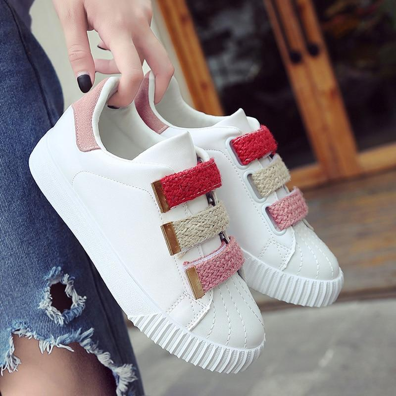 Women Vulcanize Shoes 2019 New Sneakers Shoes Woman White Casual Shoes