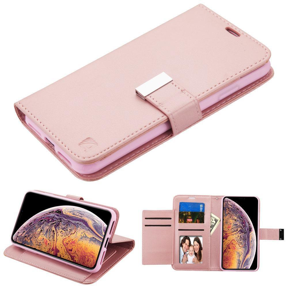 "Essential Leather Wallet iPhone Xs Max (6.5"") Case - Rose Gold - MPC - MyPhoneCase.com"