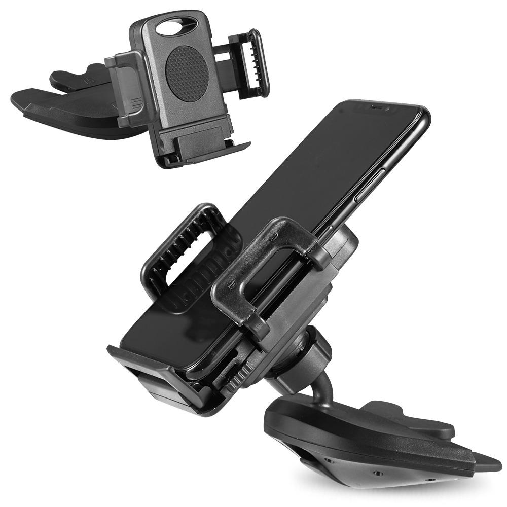 Universal CD Slot Car Mount 3-Side Grips Phone Holder for Phones - MPC - MyPhoneCase.com