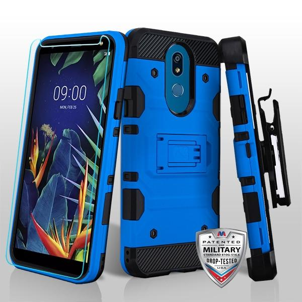 Storm Tank 3-in-1 LG K40 Case Holster - Blue - MPC - MyPhoneCase.com