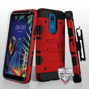 Storm Tank 3-in-1 LG K40 Case Holster - Red - MPC - MyPhoneCase.com