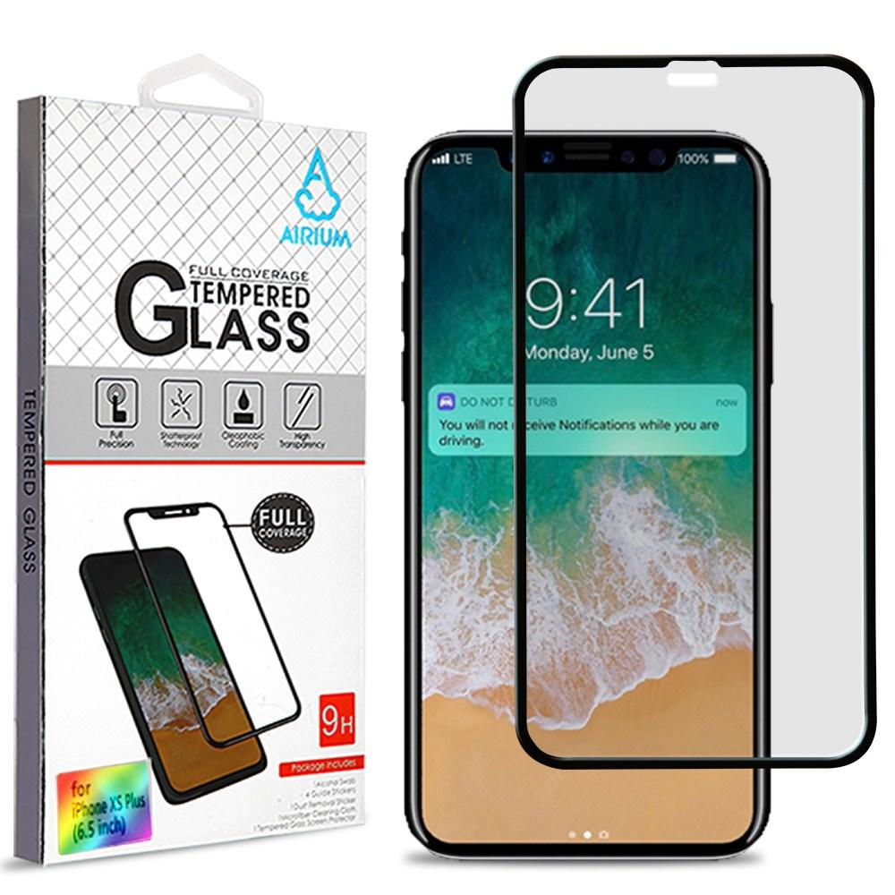 "Tempered Glass Screen Protector iPhone Xs Max (6.5"") - Full Cover - MPC - MyPhoneCase.com"