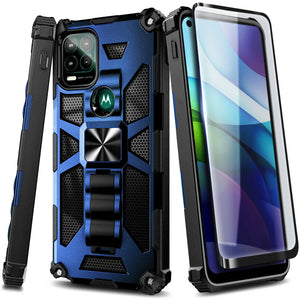 MPC Grippy Shockproof Armor Moto Z Play Case - Turquoise/Gray - MPC - MyPhoneCase.com