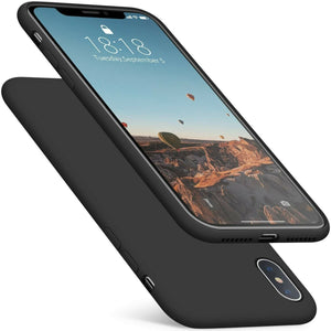 "Slim Fit Ultra Thin Cover iPhone XS MAX (6.5"") Case - Matte Black - MPC - MyPhoneCase.com"