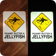 """Jellyfish"" sign"