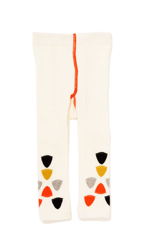 Hansel from Basel leggings - cone in ivory