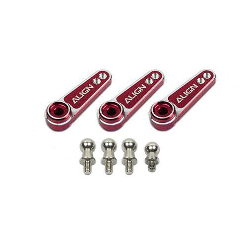 D6FF Metal Servo Horn(M2.5)-Red HSP61015QR