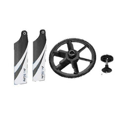 104T 28T Autorotation Tail Drive Upgrade Set H45G004XX-Mad 4 Heli