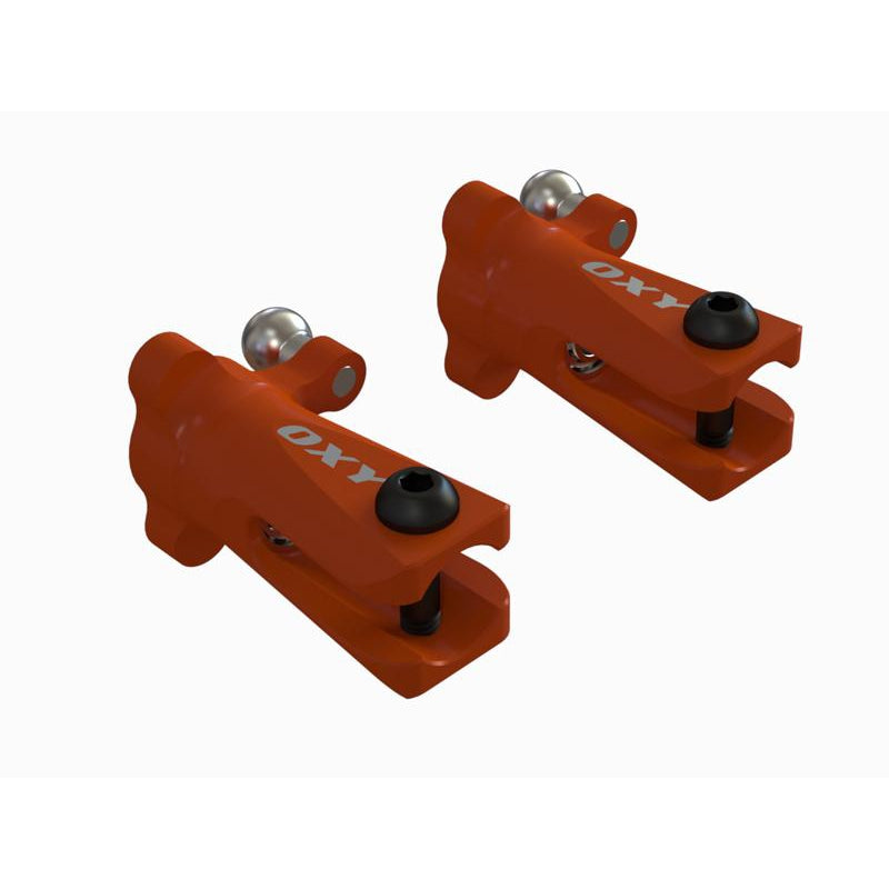 OSP-1240 OXY3-OXY4-Tail Grip,Orange-2 Pc