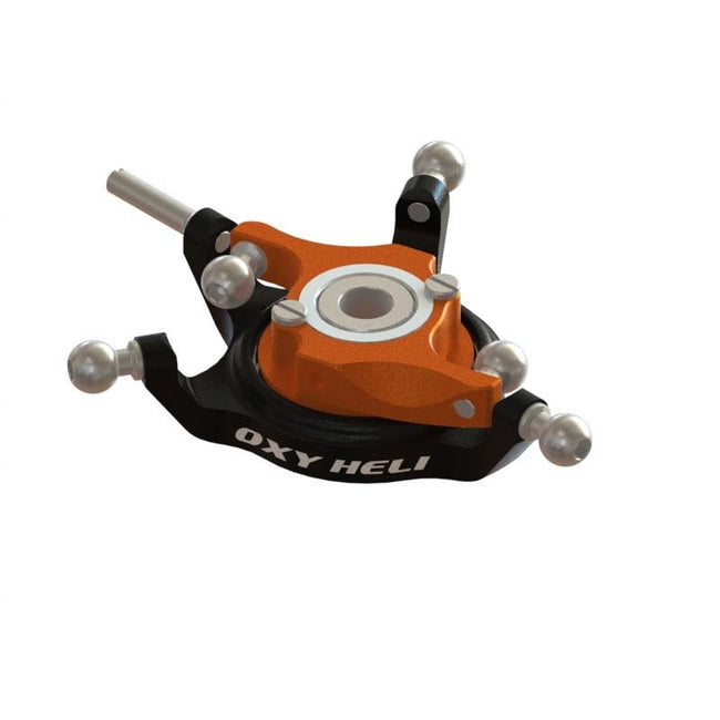 SP-OXY3-114 - OXY3 TE - Ultra Swashplate , Black-Orange (D)