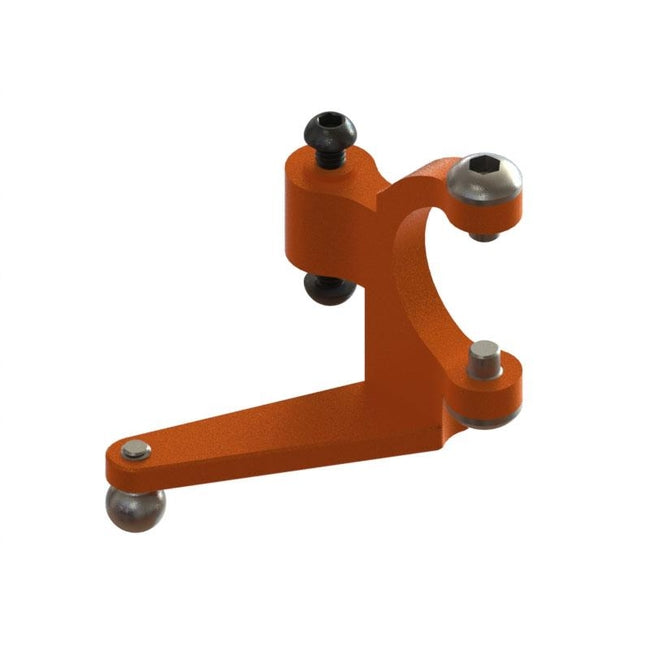 SP-OXY3-128 - OXY3 TE - Tail Bell Crank, Orange (D)