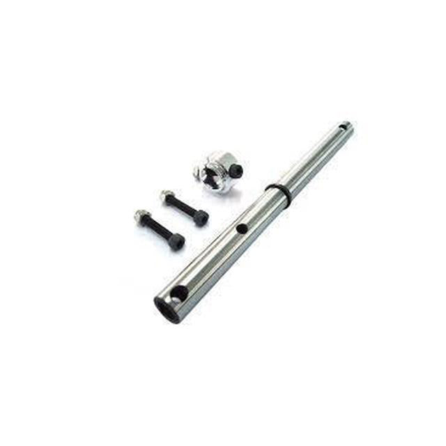 Goblin 630/700 New Main Shaft with M4 Locking Collar  H0122-S