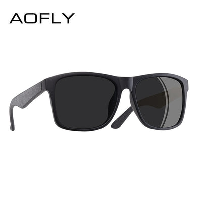 AOFLY BRAND DESIGN Driving Male Sunglasses Men Polarized Sunglasses Square Style Eyewear UV400 - CarGill Sells