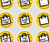 'Safe food' Aware Stickers