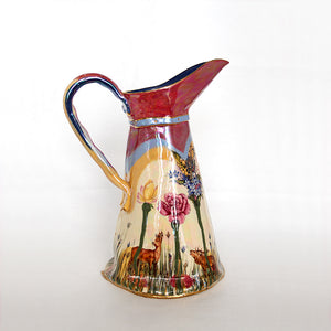 Large Secret Garden Ewer Jug