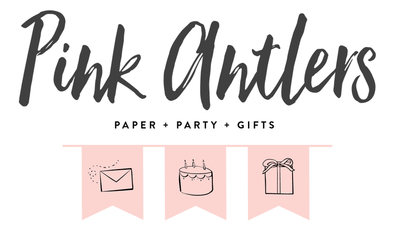 Pink Antlers is a paper + party + gift shop in Leawood, KS & online.