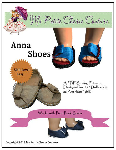 "Anna Shoes 18"" Doll Shoes"