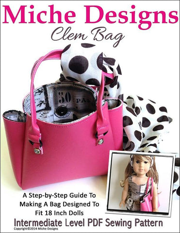 "Clem Bag 18"" Doll Accessories"