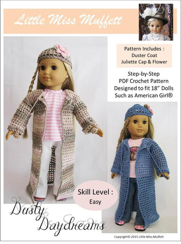 Dusty Daydreams Crochet Pattern