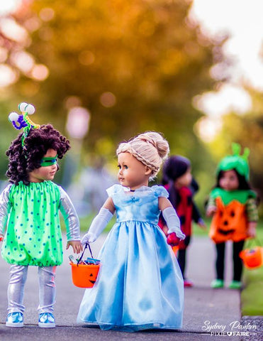 Halloween Costumes 15-18 inch Doll Clothes Pattern