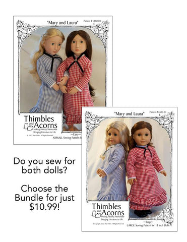 Mary and Laura Bundle - AG and AGAT Dolls