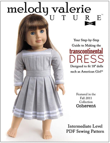 "Transcontinental Dress 18"" Doll Clothes"