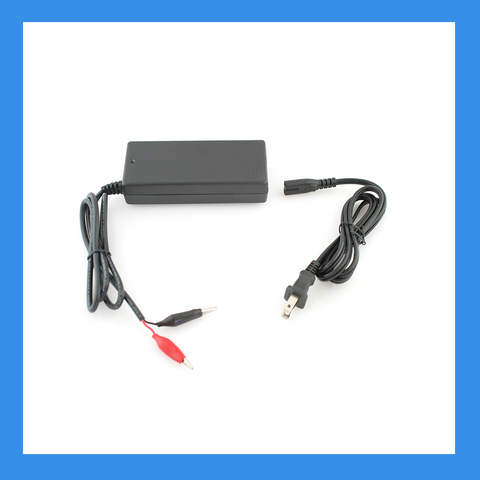 14.6V, 2A AC-to-DC Charger (Alligator) for 12V LiFePO4 Batteries (BPC-1502C)