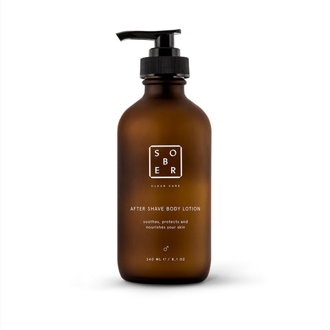 Sober After Shave Body Lotion