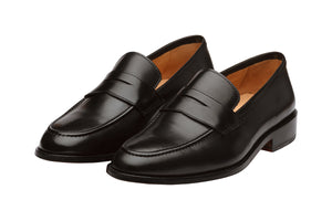 PENNY LOAFER WITH CORD STITCH ON THE VAMP – B