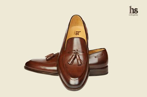 Tassel Loafer with Cord Stitch on the Vamp