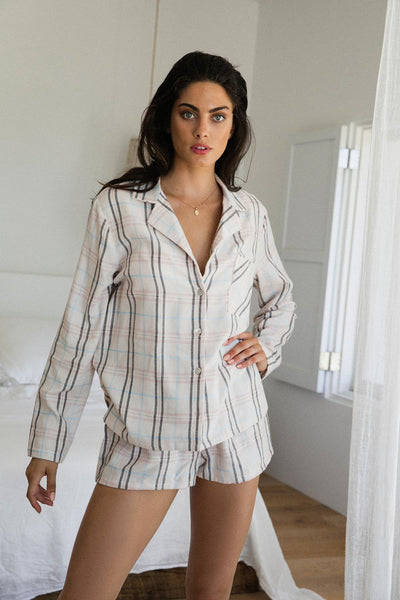 Luella Long Sleeve PJ Set - Homebodii