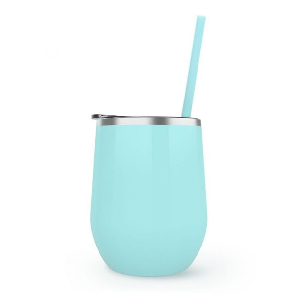 Sea-Foam Stemless Wine Tumbler