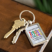 Load image into Gallery viewer, True Colors Keychain Autism Awareness and Support - sea-gull
