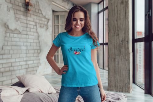 #Beautiful Women's Softstyle T-Shirt - sea-gull
