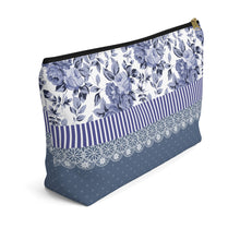 Load image into Gallery viewer, Travel cosmetic pouch organizer with T-bottom perfect gift for her